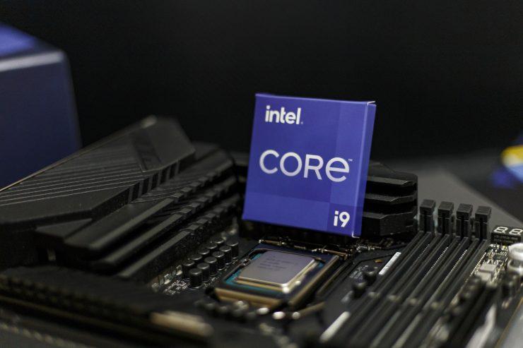 Intel Core i9-11900K im Sockel