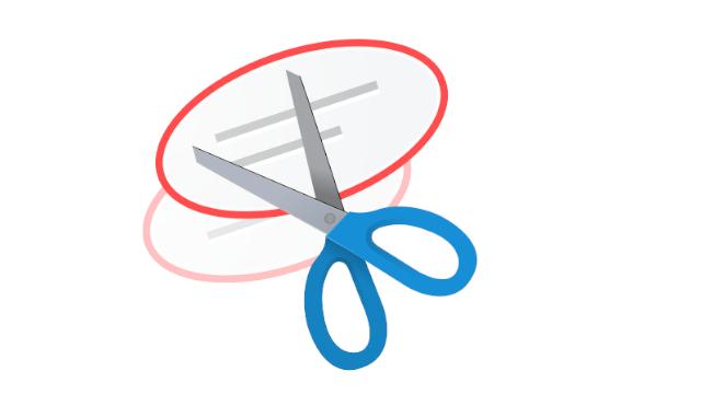 Symbol für das Snipping-Tool