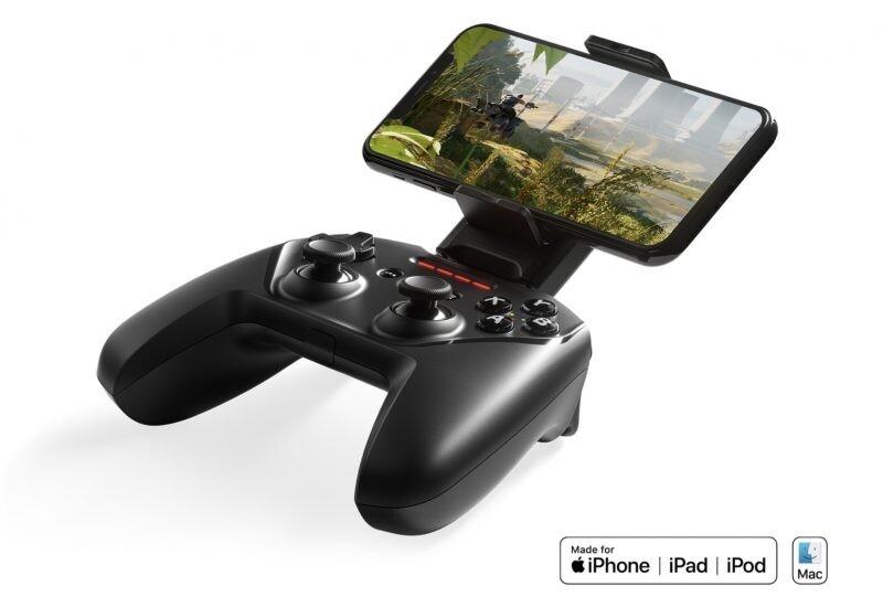 Bestes Gamepad für iPhone SteelSeries Nimbus +