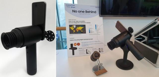 Samsung verwendet alte Galaxy-Telefone für Eyecare-Tools