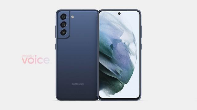 Samsung Galaxy S21 FE 5G Design durchgesickert