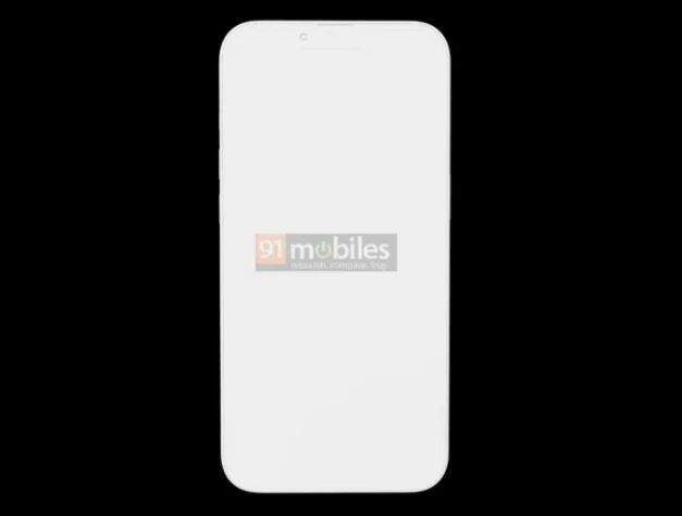iPhone 13 Pro Dicke und Kamera-Rendering