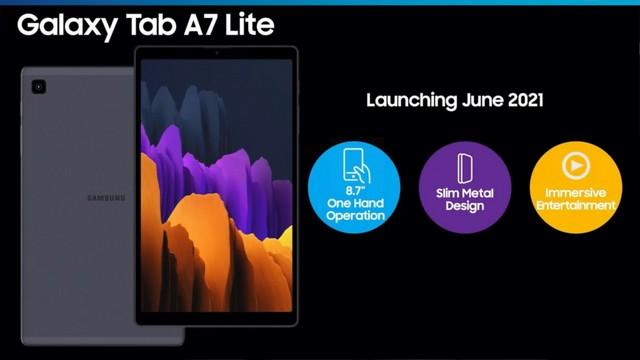 Samsung Galaxy Tab S7 Lite 5G durchgesickert