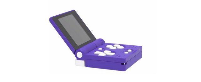 Der FunKey S ist eine winzige Spielekonsole im Gameboy-Stil