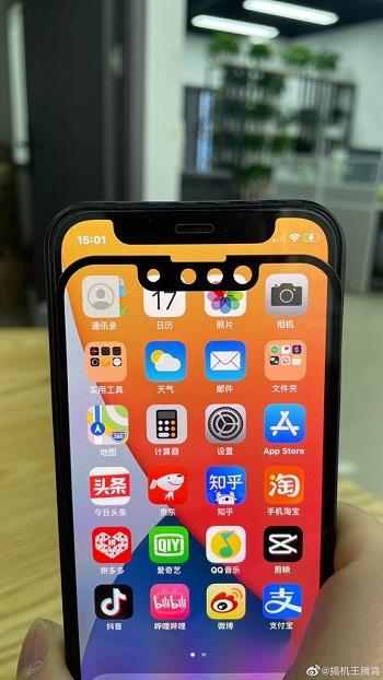 iPhone 13 Kerbe im Vergleich zu iPhone 12
