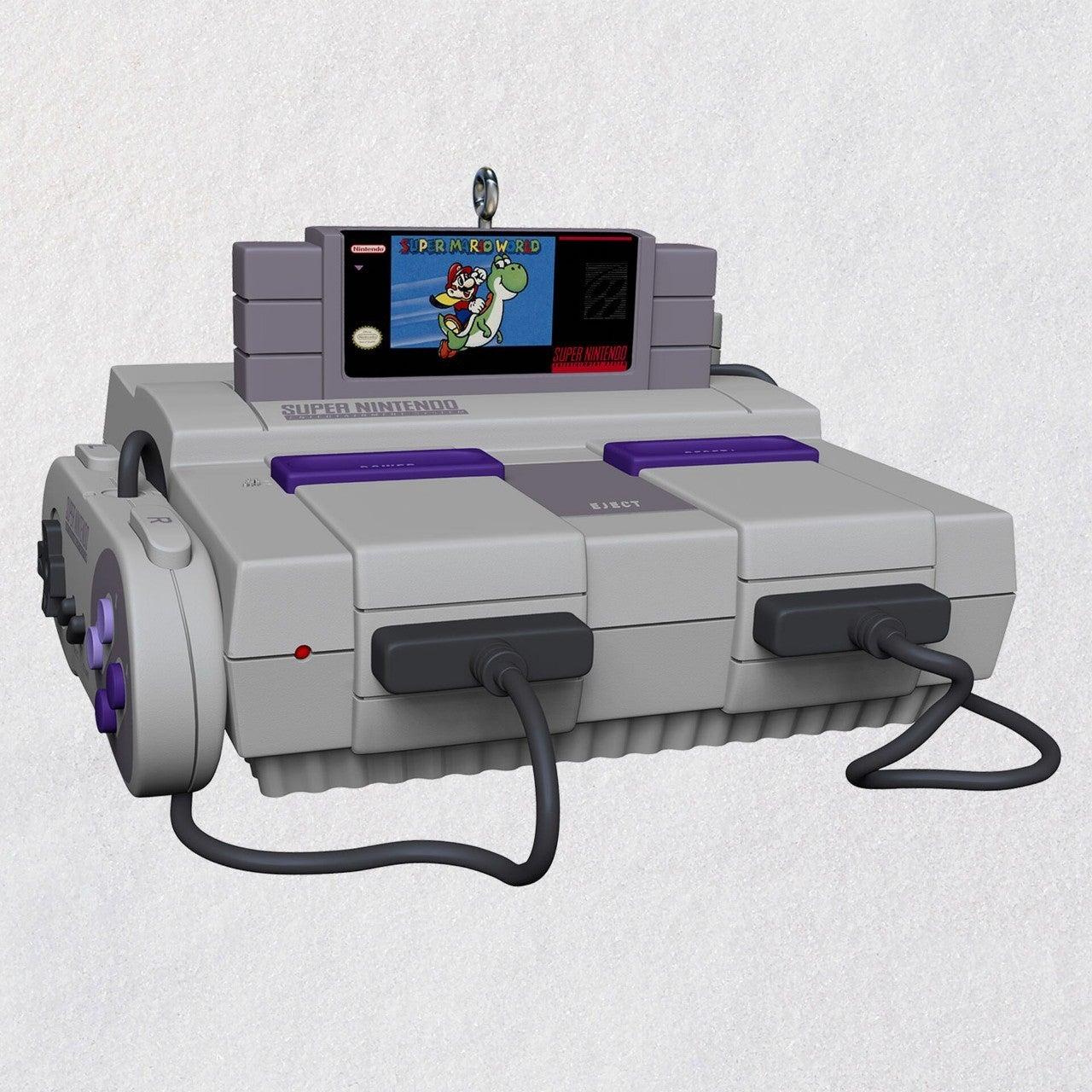 Nintendo-Super-NES-Konsole-Andenken-Ornament-mit-Licht-und-Ton_1999QXI7442_01