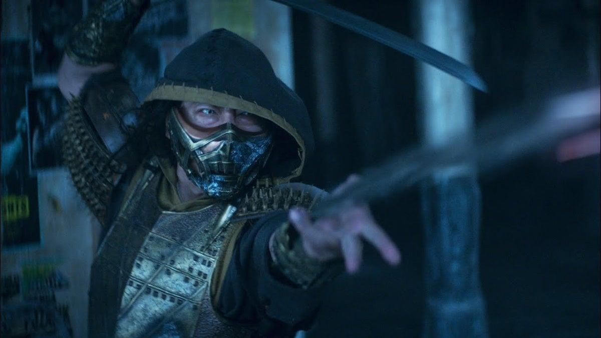 Mortal Kombat Scorpion Trailer neue Cropped Hed