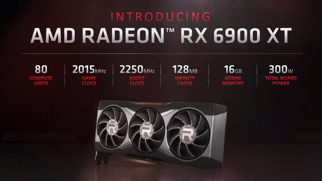 AMD Radeon RX 6900 XT Flaggschiff Big Navi GPU-basierte Grafikkarte kommt heute auf den Markt