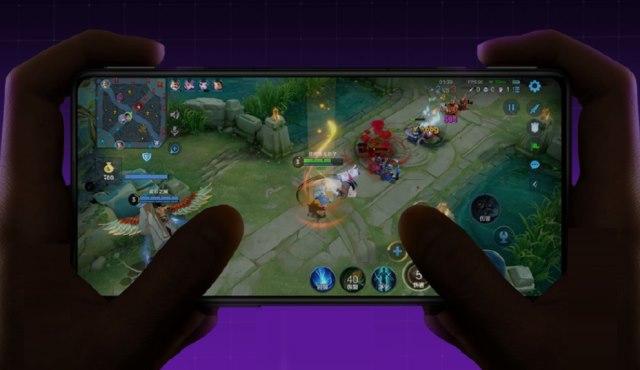 Redmi K40 Gaming-Handy-Bildschirm
