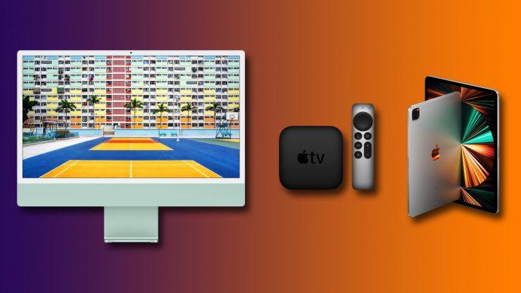 Sie können jetzt den neuen M1 iMac, das 2021 iPad Pro und Apple TV 4K vorbestellen