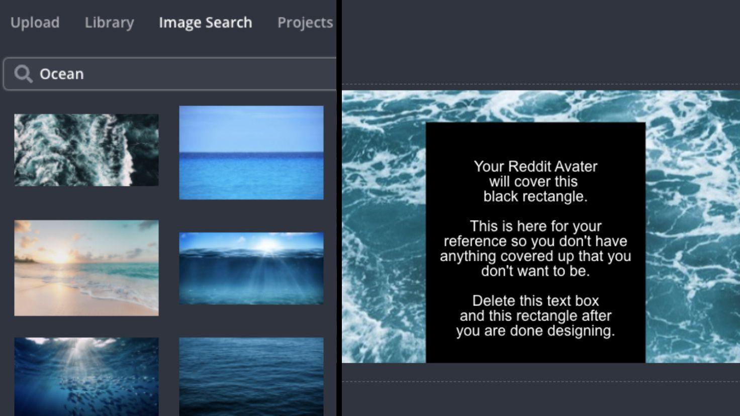 Screenshots zeigen, wie Sie Ihrem Reddit-Profilcover Bilder hinzufügen