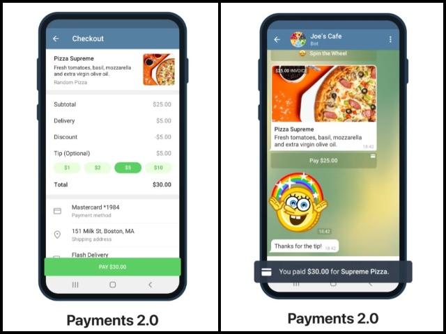 Telegramm fügt Zahlungen 2.0 und mehr mit dem neuesten Update hinzu