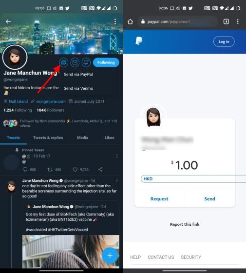 Twitter Tipp JAR-Funktion