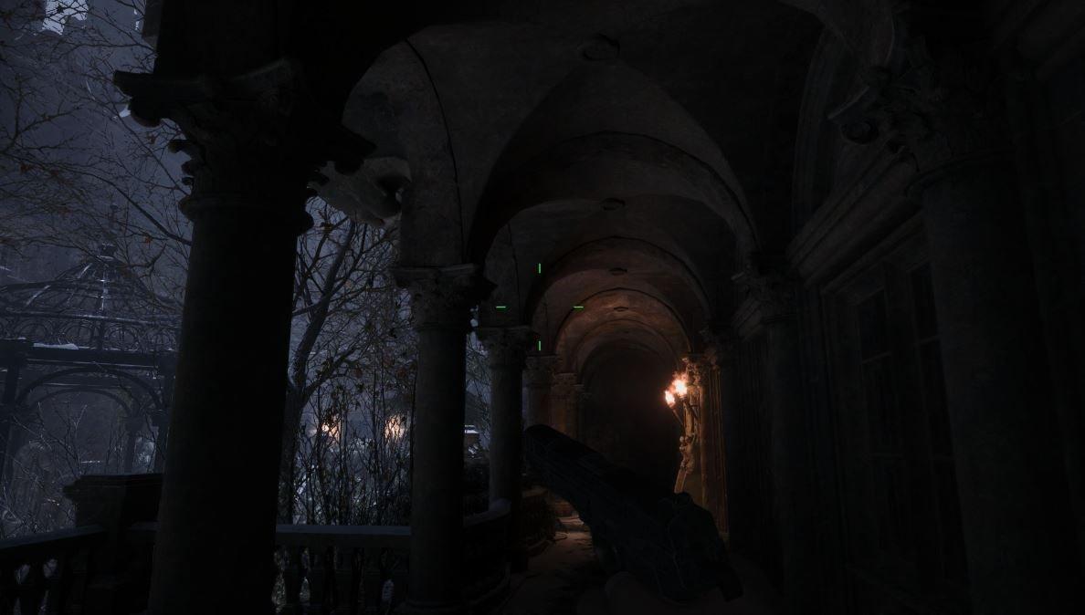 Resident Evil Village Hofgegenstand Ort im Überhang