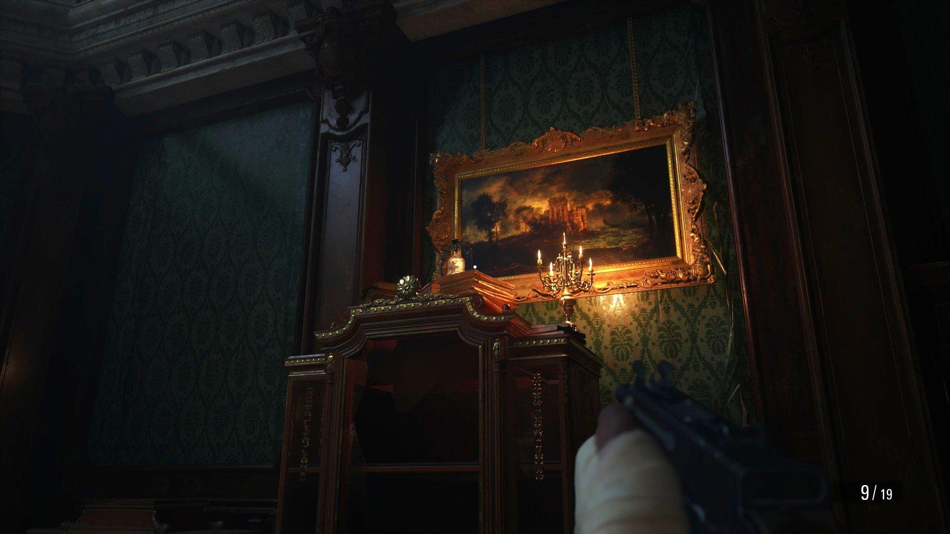 Resident Evil Village Castle Dimitrescu Glocken