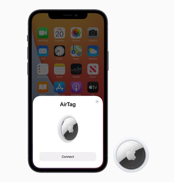Apple_airtag-Pairing-Bildschirm