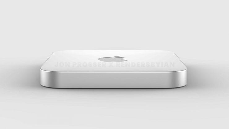 Apple High-End Mac Mini Redesign Körper