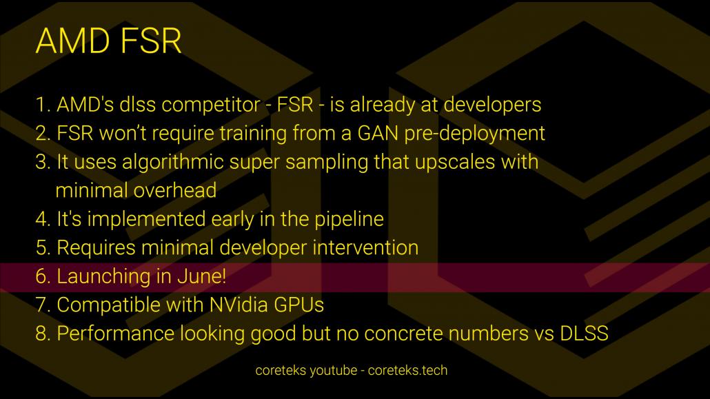 AMD FidelityFX Super Resolution startet im Juni NVIDIA DLSS