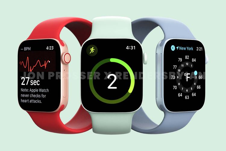 Apple Watch Serie 7 Leck ft