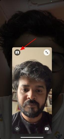 Facetime-Videoanrufe im Hintergrund verwischen 2