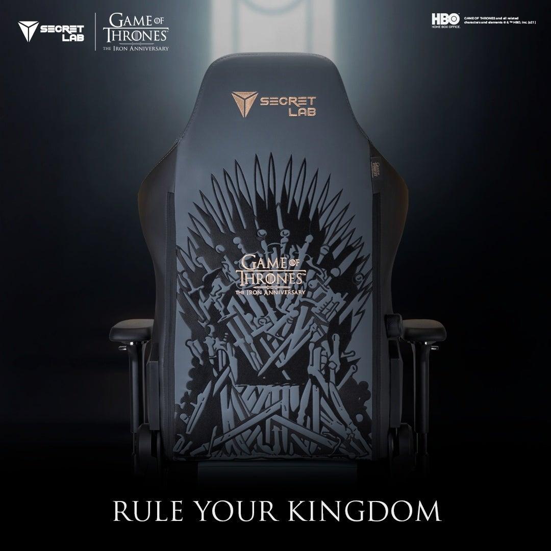 Secretlab Game of Thrones Iron Anniversary Edition1