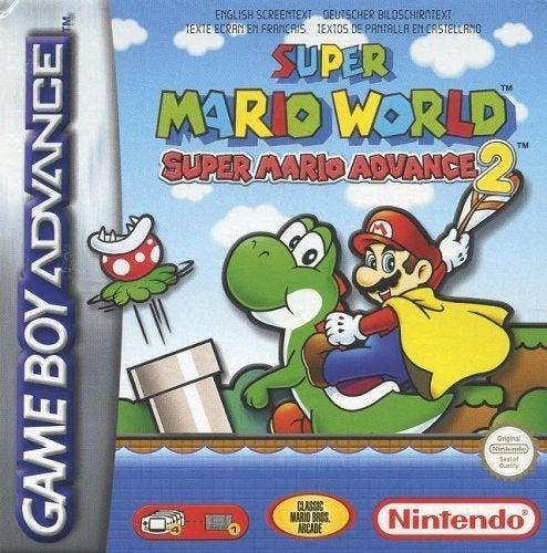 Mario World Box-Kunst
