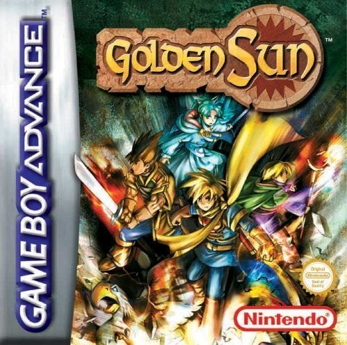 Goldene Sonne Box-Kunst