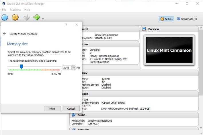 Linux in einer virtuellen Umgebung installieren3