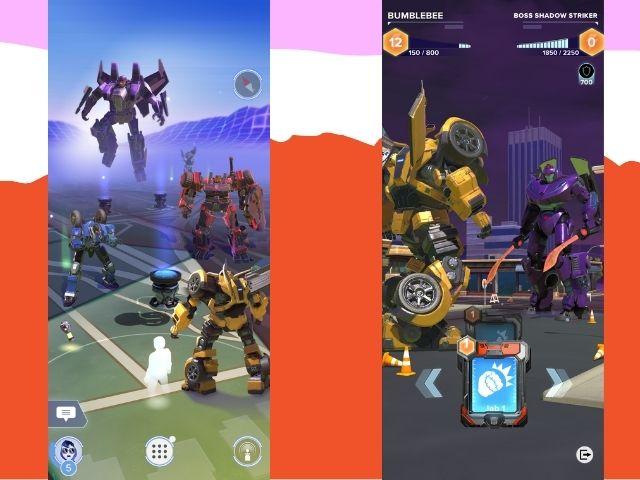 Niantic veröffentlicht ein neues AR-basiertes Transformers-Spiel