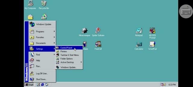 Mit dieser App können Sie Windows 98 auf Ihrem Smartphone ausführen