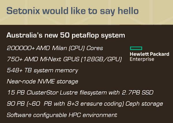 Setnoix Supercomputer wird von AMDs Next-Gen Instinct MI200 128 GB GPUs und AMD EPYC Milan CPUs angetrieben 1